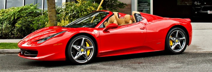 Ferrari 458 Spider Rental Miami