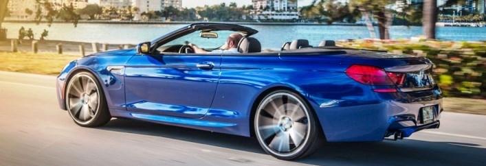 BMW M6 Convertible Rental Miami
