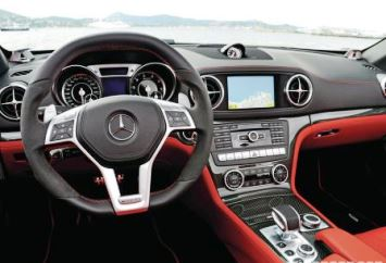 Mercedes-Benz SL550 Interior