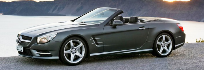 Mercedes-Benz SL550 Rental Miami