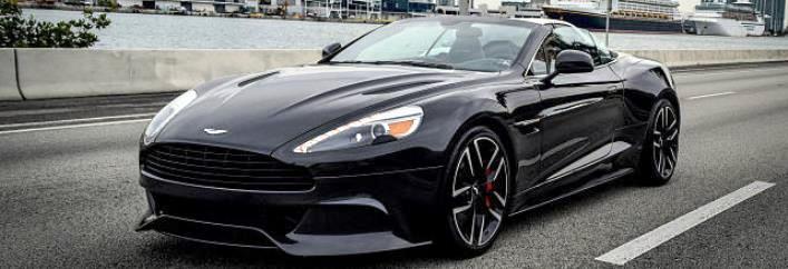 Aston Martin Vanquish Rental Miami