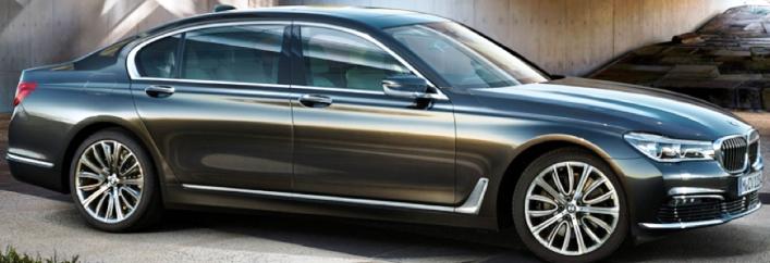 BMW 750i Rental Miami