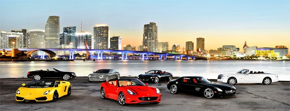 Renting Exotic Sports Cars in Miami