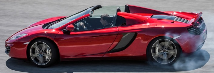 McLaren MP4-12C Spider Rental Miami