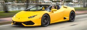 Lamborghini Huracán Rental Miami