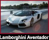 Lamborgnini Aventador Trending Miami Rental