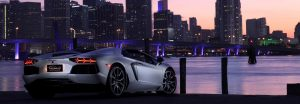 Lamborghini Miami Rental Background