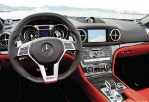 Mercedes-Benz SL550 Interior