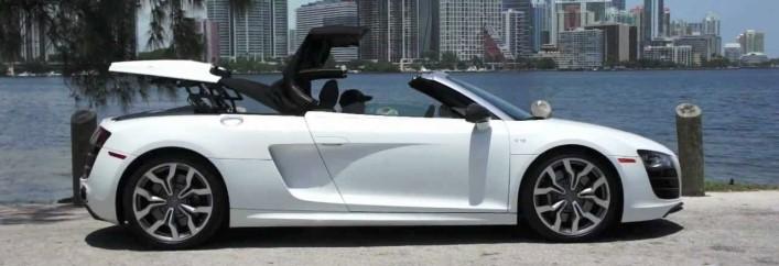 Audi R8 Spyder Rental Miami