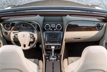 Bentley GT Speed Convertible Interior