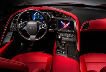 Corvette Stingray interior