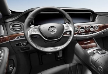Mercedes-Benz s550 Interior