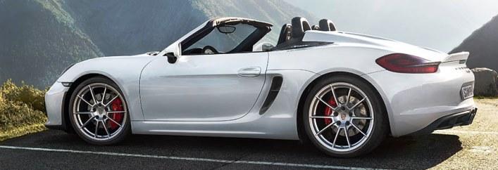 Porsche Boxster Spyder Rental Miami