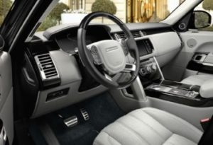 Range Rover HSE Interior